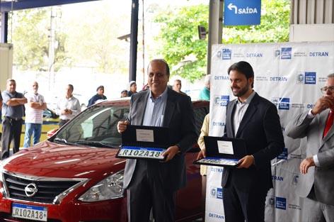 Lançamento da Placa Modelo Mercosul -  Detran-RJ